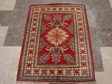New Kazak Super Veg Dyed Mahal Rectangle Rug Hand Knotted Carpet (3.9 x 2.10)'