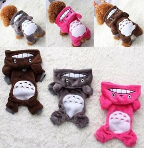 Warm Soft Fleece Pet Dog Cat Clothes For Small Dogs Chihuahua Yorkie Outfits