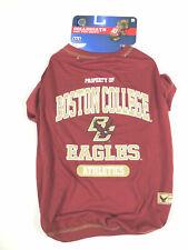 "Boston College Bc Dog Jersey Shirt Large 20"" 22"" 24"" Pet College Apparel #Gh"