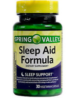 Spring Valley Sleep Aid Formula Dietary Supplement 30 capsules