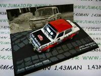 RIT5M 1/43 IXO Altaya Rallye : SIMCA 1000 Rallye 2 Monte carlo 1973 Fiorentino
