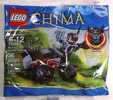 2013 LEGO LEGENDS OF CHIMA SET #30254 RAZCAL'S DOUBLE-CROSSER POLYBAG XMAS RARE!