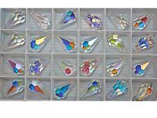 Swarovski Top Drilled Drop Pendants #6000, 22x11mm Crystal AB, 48pcs FULL PACK