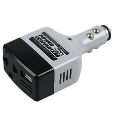 Car Charger Power Inverter Adapter DC to AC Adapter Converter USB Plus Outlet M6