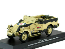 "Scale model armored 1:43 M3А1 ""Scout Car"" 5th Field Regiment NZ Тунис 1943"