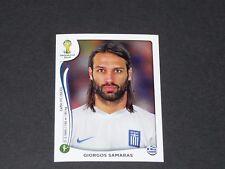 218 SAMARAS CELTIC GRECE HELLAS PANINI FOOTBALL FIFA WORLD CUP 2014 BRASIL