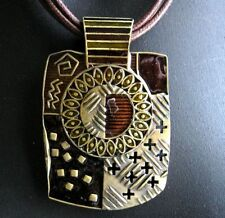 Bronze Enamel Fashion Necklaces & Pendants