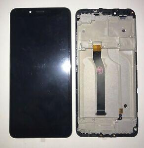 NUOVO TOUCH SCREEN LCD DISPLAY VETRO + FRAME PER XIAOMI REDMI 6 6A NERO + GLS