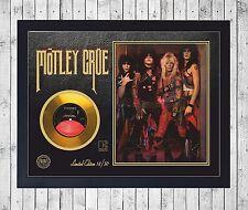 MOTLEY CRUE SHOUT AT THE DEVIL CUADRO GOLD/PLATINUM CD EDICION LIMITADA. FRAMED
