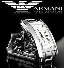 EMPORIO ARMANI MEN'S ROMAN NUMERAL SECOND DIAL WATCH AR0145