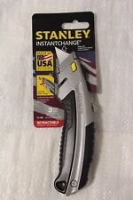 """NEW 10-788 STANLEY 6-1/2"""" RETRACTABLE UTILITY KNIFE"""