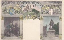 C857) TORINO 1906, SECONDO CENTENARIO DELLA BATTAGLIA DI TORINO. VIAGGIATA.