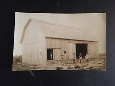 RPPC HIP ROOF BARN  built showing CARPENTERS 1900  nice  near Frankenmuth Mi