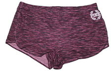 Victorias Secret Pink Sexy Logo Pajama Sleep Short Marl Burgundy Sz Small NWT