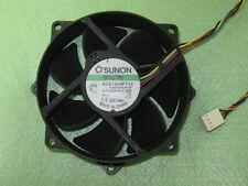 SUNON MagLev KDE1209PTVX 90mm / 80mm x 25mm CPU Round Cooling Fan 12V 7.0W 4Pin