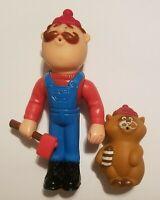 Lil Loggers Kenner 1982 Jumper Joe Rocky Raccoon Vintage Orig VERY HTF TOGETHER!