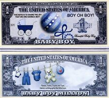 It's a Boy - Baby Series Million Dollar Novelty Money