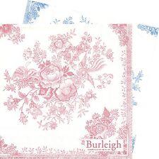 2 Serviettes papier Fleur Faisan asiatique Asie Paper Napkins Asiatic Pheasant