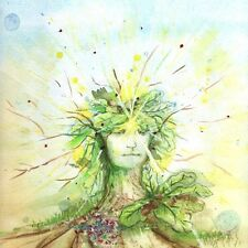 """Summer Solstice Greeting Card - 5"""" x 5"""""""
