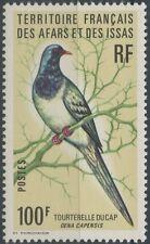 AFARS & ISSAS 1976 N°429** Tourterelle masquée du Cap/ Colombe masquée, BIRD MNH