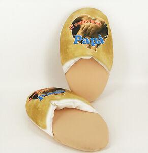 Pantofola Festa del Papà - Ti voglio bene - Rimini Gadget - ciabatte