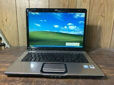 "HP Pavilion DV6000 15.6"" Windows XP PRO SP3 Laptop Intel 1.6ghz 2gb 120gb DVDR"