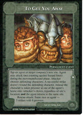 MIDDLE EARTH DARK MINIONS RARE CARD TO GET YOU AWAY