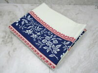 Vintage Wamsutta Standard Pillowcase Red Blue PC406