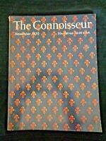 1970 THE CONNOISSEUR Magazine W J Neatby Hogarth Sir Charles D'Oyly Glemham Hall