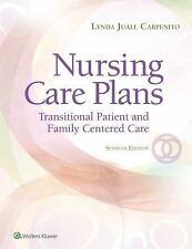 NURSING CARE PLANS - CARPENITO, LYNDA JUALL, R.N. - NEW PAPERBACK BOOK