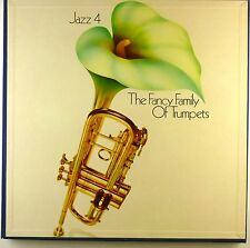 """5x 12"""" LP - Various - Jazz 4: The Fancy Family Of Trumpets - D703 - cleaned"""