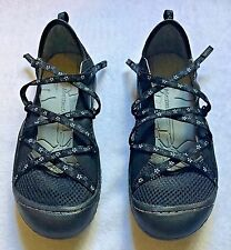 New J-41 JEEP Genesis-Flowers Strappy Mesh Adjustable Shoes Women's 7M NWOB