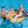 Swimline Chocolate Dipped Pretzel Inflatable Swimming Pool Lounge