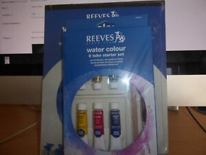 Reeves Water colour painting set paints and paper gift set