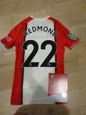 523e5ad17 Southampton FC  22 Nathan Redmond Match Worn Washed Carabao Cup Jersey  2017-8-