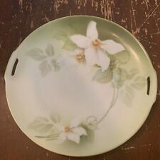 Antique RS Tillowitz Silesia Flower Cake Plate