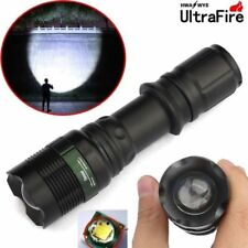 CREE Tactical 90000LM Zoomable T6 LED Flashlight 18650 Super Bright Torch US