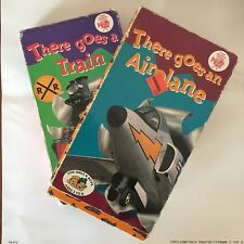 VHS 2-pack: THERE GOES A TRAIN / THERE GOES AN AIRPLANE