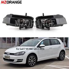 2X Fog Light For Volkswagen Golf 7 VII MK7 2013 2014 2015 2016 Halogen Bulb Lamp