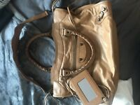 Authentic Balenciaga Beige Classic City Bag