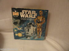 Star Wars 24 Pg Read-Along Book and Recordd 33 1/3 RPM 1979