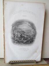 Vintage Print,TITLE PAGE,Ladies Repository,1857