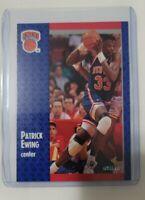 1991 Fleer Patrick Ewing #136 Basketball Card