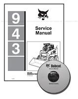 Bobcat 943 Skid Steer Loader Workshop Service Manual CD + Download