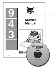 Bobcat 943 Skid Steer Loader Workshop Service Manual CD + Download