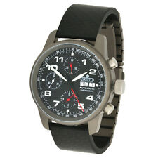 Aristo Unisex Armbanduhr Automatik Chronograph Titan Carbon Saphir 5H99 ETA7750