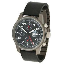 ARISTO Unisex Wristwatch Automatic Chronograph Titanium Carbon Sapphire 5H99