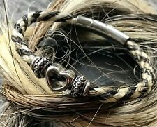 Bespoke Custom Horse Hair Bracelet Made From Your Own Horses Hair