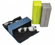Brillenetui Doppel Magnetetui Mehrbrillenetui Brillenbox für 2 Brillen