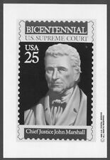 #2415 25c US Supreme Court Stamp Publicity Photo Essay
